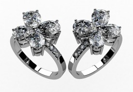 A pair of Diamond rings