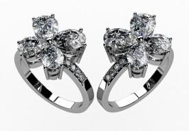 A pair of Diamond rings