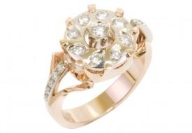 Stunning Ring with Diamonds
