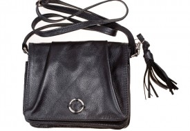 A Stylish Small Black Handbag