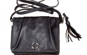A Stylish Small Black Handbag