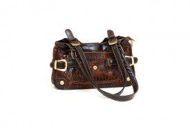 Fashionable vintage handbag